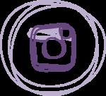 Lilaplätzchen bei Instagram